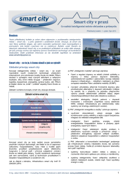 Bulletin Smart city v praxi