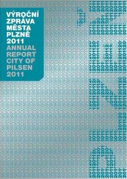 Výroční zpráVa města plzně 2011 annual report city of pilsen
