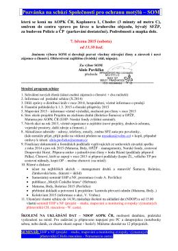 pozvánka ve formátu PDF - Společnost pro ochranu motýlů