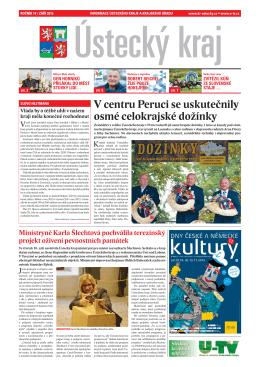 Krajské noviny - září 2015