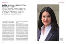 Public relations v digitální éře: Jeho role poroste