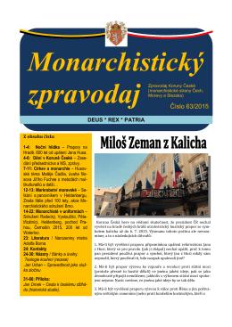 Monarchistický zpravodaj - Lyžařský výcvik LIR 8 proběhne v