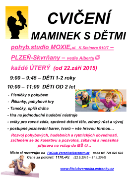 MAMINEK S DĚTMI - Fit Club Veronika
