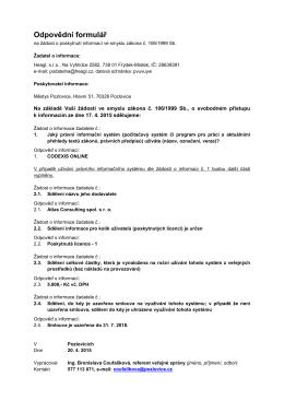 Právní informační systém