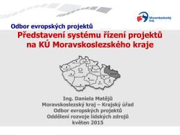 odbor evropských projektů