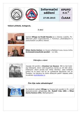 is_20150527 - Klub psychotroniky a UFO