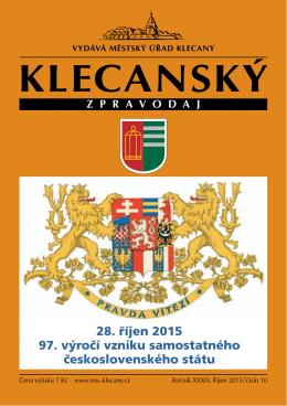 10/2015 - Město Klecany