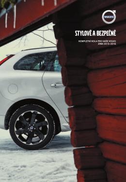 Nabídka zimních kol Volvo 2015