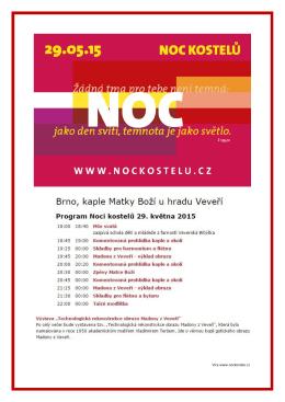 Více www.nockostelu.cz