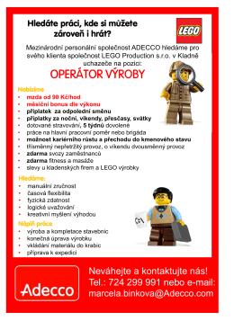Lego - Adecco