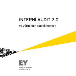 Interní Audit 2.0 ve výrobních společnostech