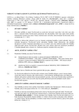 Veřejný návrh LIGNA po doplnění ČSII