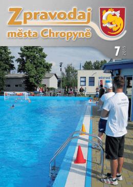 Číslo 7-2015 - Město Chropyně
