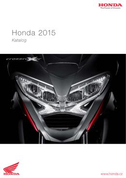 Modely motocyklů Honda