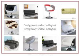 Designový sedací nábytek Designový sedací nábytok