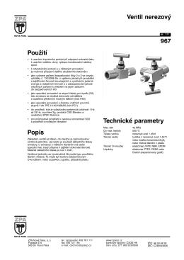 1) Katalogový list 967