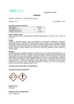 Ferosol – PDF, 155 kB