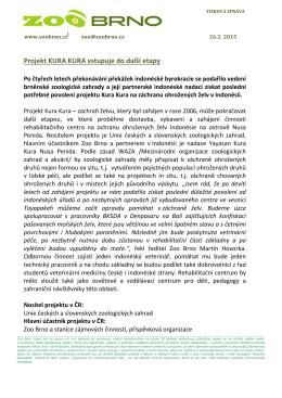 Tisková zpráva Zoo Brno 26. 2. 2015 pdf