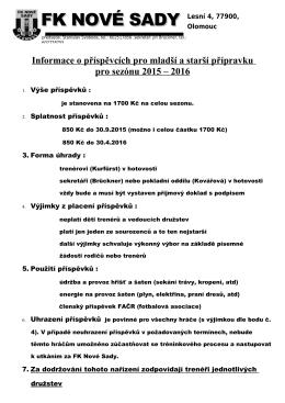 Soutěžní řád fotbalu - článek 14
