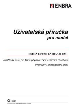 Uživatelský návod ENBRA CD 50H, 100H