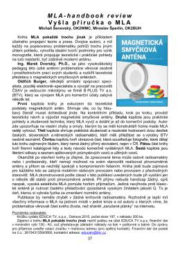 MLA-handbook review V yš l a př í r u č ka o M L A
