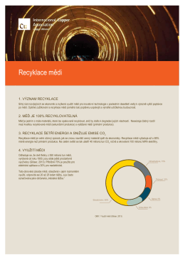 Recyklace mědi