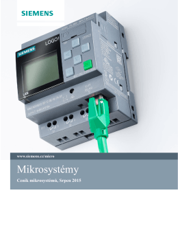 Katalog a ceník mikrosystémů
