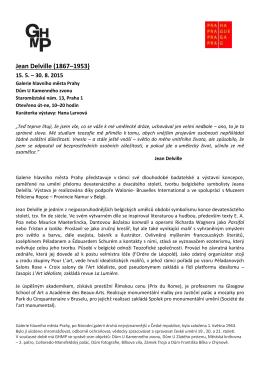 Jean Delville - Galerie hlavního města Prahy
