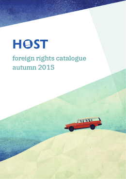 foreign rights catalogue autumn 2015