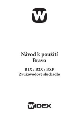 Návod k použití Bravo