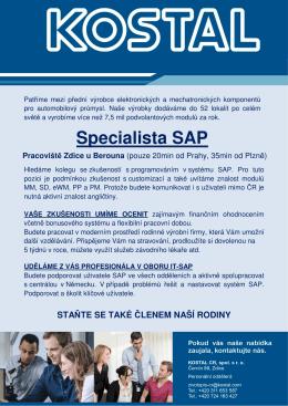 Specialista SAP