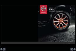 Nissan Juke Katalog doplňků