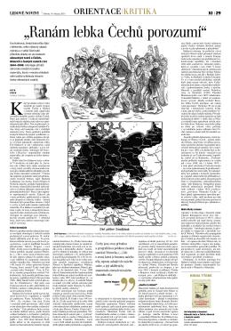 """""""Ranám lebka Čechů porozumí"""""""
