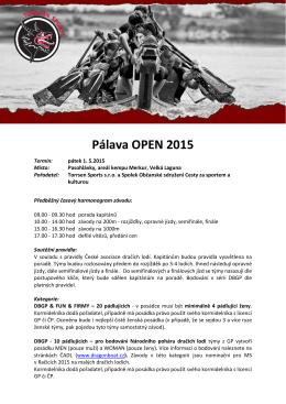 Pálava Open - Pavlof Sport