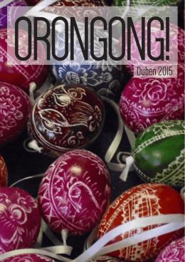 ORONGONG!Duben 2015