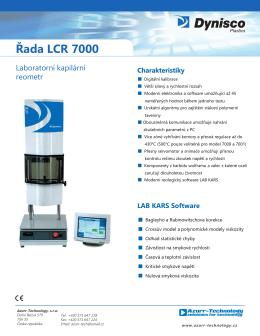 Řada LCR 7000