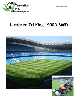 Jacobsen Tri-King 1900D 3WD