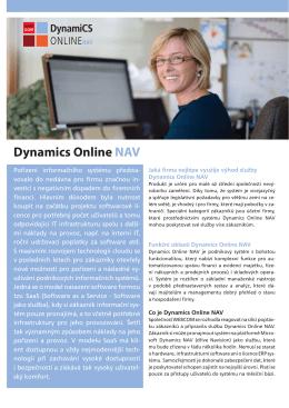 Dynamics Online NAV