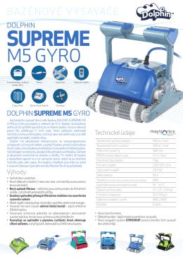 Dolphin SUPREME M5 GYRO