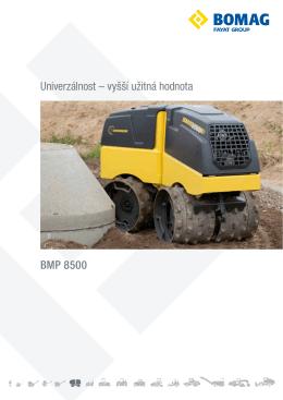 BMP 8500 Univerzálnost – vyšší užitná hodnota