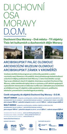 Duchovní osa Moravy D.o.M.