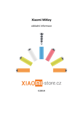 Xiaomi MiKey - Xiaomi