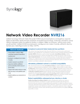 Network Video Recorder NVR216
