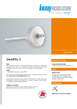 SMARTfix S - Knauf Insulation