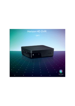 Horizon HD DVR