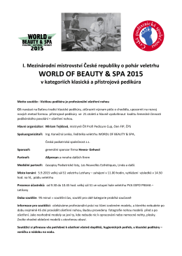 WORLD OF BEAUTY & SPA 2015