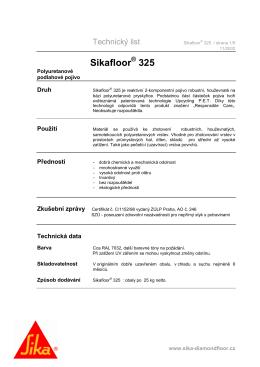 Sikafloor 325