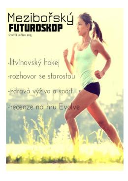 2.číslo školního časopisu Futuroskop