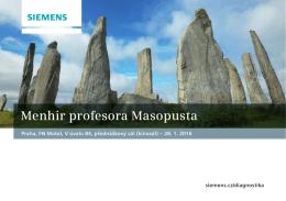 Menhir profesora Masopusta