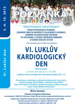 PRO LÉKAŘE / - VI. Luklův kardiologický den